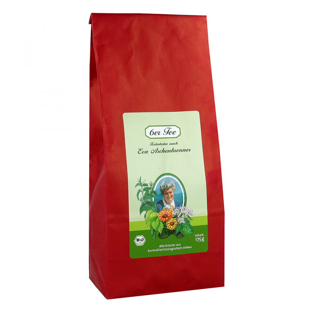 6er Organic Tea According To Eva Aschenbrenner 175 g