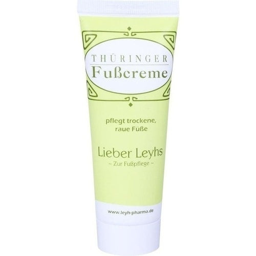 Leyhs Thüringer Foot Cream 75 ml is a Foot Peeling & Cream