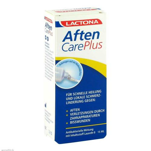Aften Care Plus Aphthous Painkillers Laureth9 15 ml