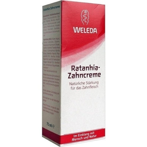 Weleda Ratanhia Toothpaste 75 ml is a Oral Care