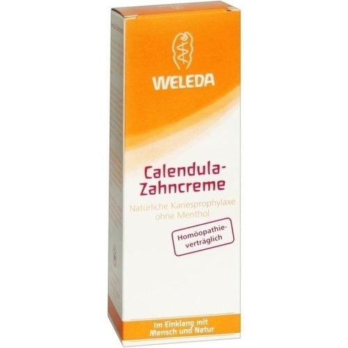 Weleda Calendula Toothpaste Menthol-Free 75ml is a Oral Care