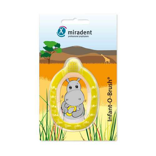 Miradent Infant-O-Brush - Yellow 1 pcs