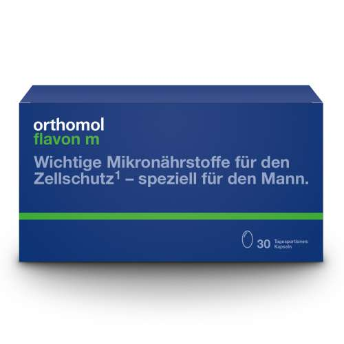 New Packaging - Orothomol Flavon M