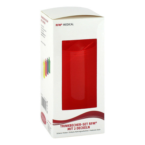 Rehaforum Drinking Cup - Red 1 pcs