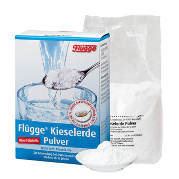 Flügge Silica Powder 200 g is a Supplements