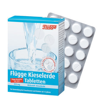 Flügge Silica Tablets 120 pcs is a Supplements