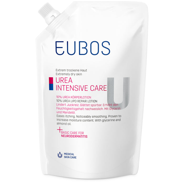 Eubos 10% Urea Body Lotion Refill Pack 400 ml