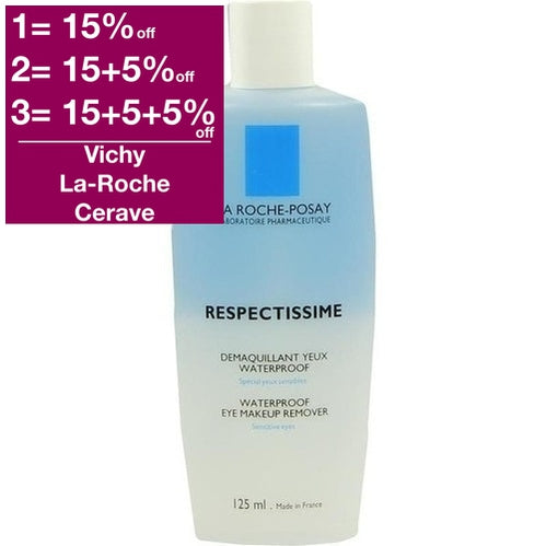 La Roche-Posay Respectissime Waterproof Eye Make-Up Remover 125ml is a Make Up Remover