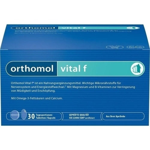Orthomol Vital F Tab/Cap - Women Supplement 30 days is a Supplements