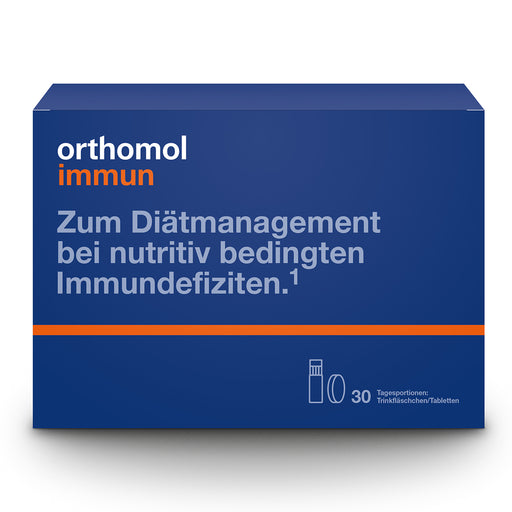 New packaging Design - Orthomol Immune Daily Drink/Tablet
