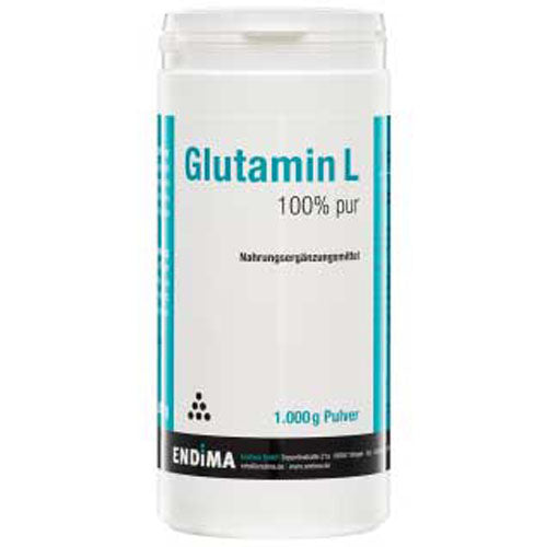 Endima Glutamine L Pur 100% Powder 1000 g