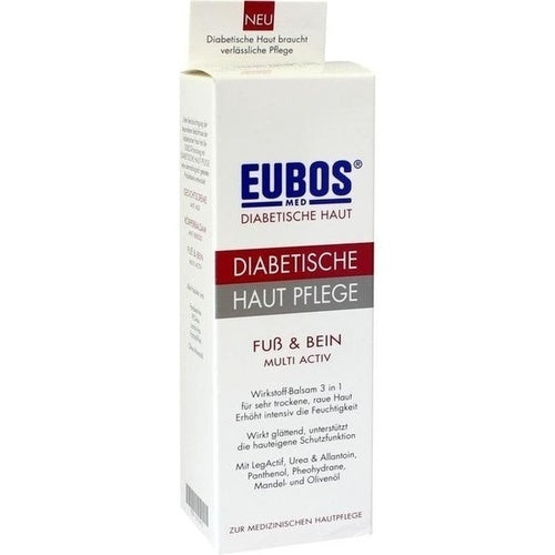 Eubos Diabetic Foot & Leg Care 100 ml is a Foot Peeling & Cream
