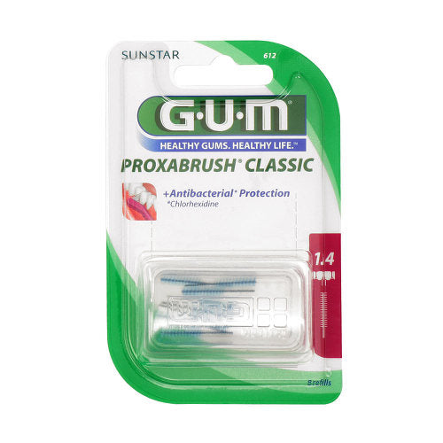 Gum Proxabrush Clasos Brushes 0.7 mm 8 pcs