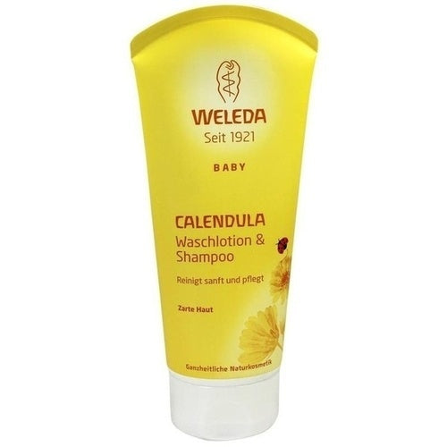 Weleda Calendula Shampoo & Body Wash 200 ml is a Baby Shower & Hair Wash