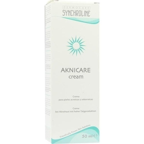 Synchroline Aknicare Treatment Cream 50 Ml Acne Treatment Vicnic