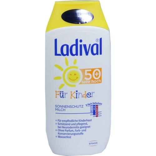Ladival Children Sunscreen Milk SPF50 + 200 ml is a Baby Sunscreen