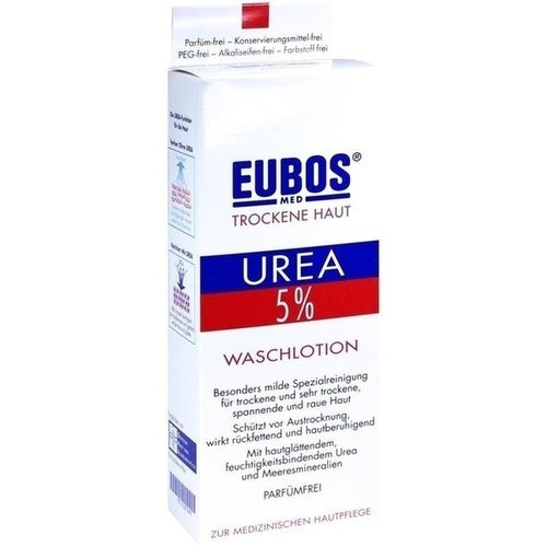 Eubos 5% Urea Washing Lotion 200 ml is a Cleansing