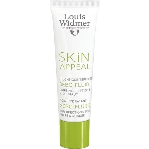 Louis Widmer Skin Appeal Sebo Fluid 30 ml is a 24H Cream
