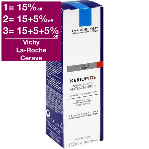 La Roche-Posay Kerium Extra-Gentle Cream-Shampoo 125ml is a Shampoo