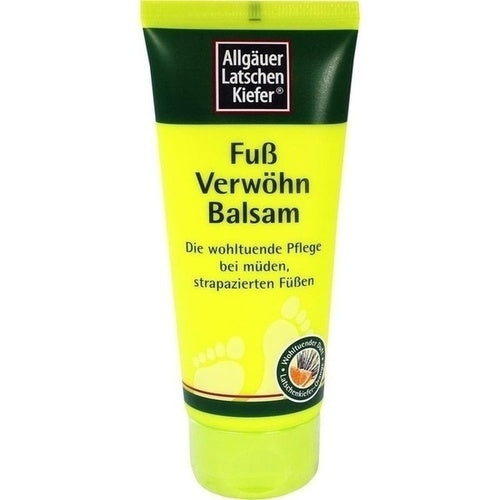 Allgäuer Latschenkiefer Foot Pampering Balm 100 ml is a Foot Peeling & Cream
