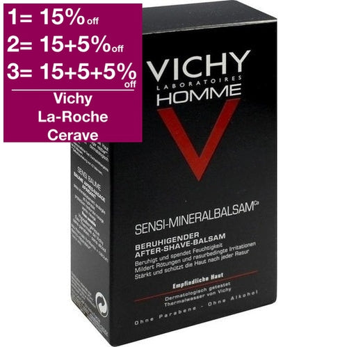 Vichy Homme Sensi Balm 75 ml is a Body Lotion & Oil