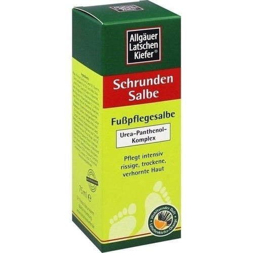 Allgäuer Latschenkiefer Foot Ointment for Cracks Orange 75 ml is a Foot Peeling & Cream