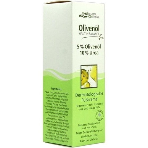 Medipharma Cosmetics Skin In Balance Olive Oil Foot Cream with Urea 100 ml is a Foot Peeling & Cream