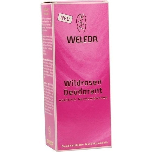 Weleda Wild Rose Deodorant 100 ml is a Deodorant
