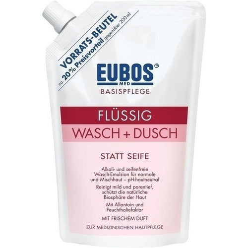 Eubos Liquid Washing Emulsion Red Refill Pack 400 ml is a Bath & Shower