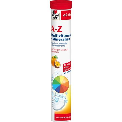 Doppelherz Multi-Vitamin and Mineral A-Z Effervescent Tablets 15 tab
