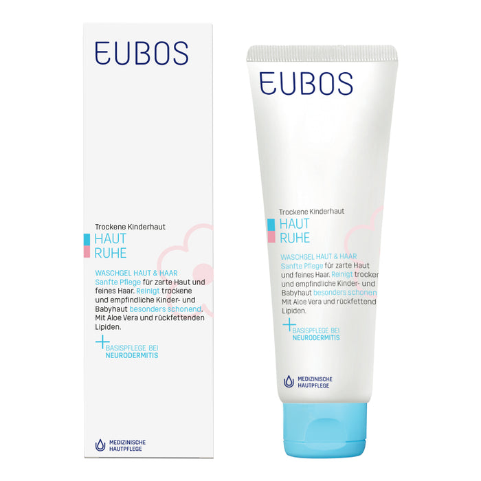 Eubos Baby & Kid Cleansing Gel for Skin and Hair 125 ml
