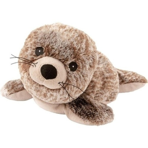 Warmies Heat Pack Soft Toy Seal Sunny Mottled Brown is Microwavable Lavender Heat Pack