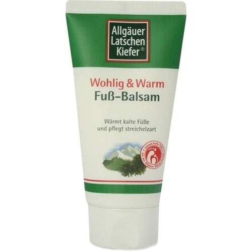 Allgäuer Latschenkiefer Foot Balm Pleasantly Warm & Well 75 ml is a Foot Peeling & Cream