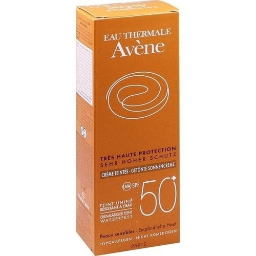 Avene Sunsitive Sunscreen Spf 50+ Tinted 50ml is a Sunscreen for Face