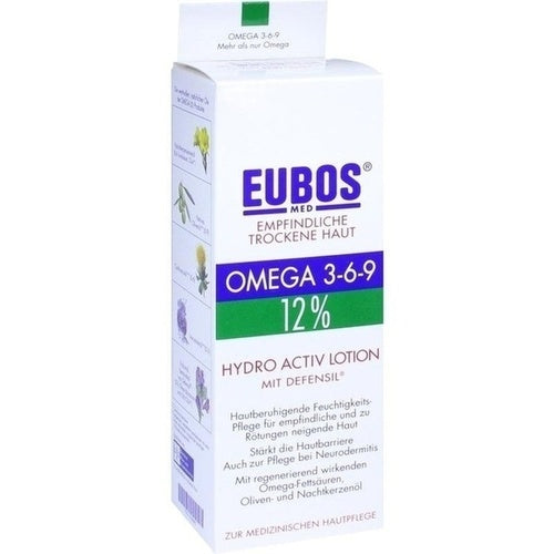 Eubos Omega Hydro-Active Lotion 200 ml is a Body Lotion & Oil