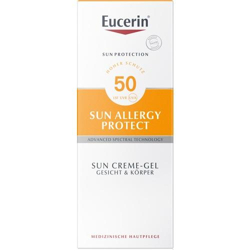 Eucerin Sun Cream-Gel Sun Allergy Protect SPF 50 150 ml is a Sunscreen for Body