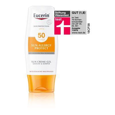 Eucerin Sun Cream-Gel Sun Allergy Protect SPF 50