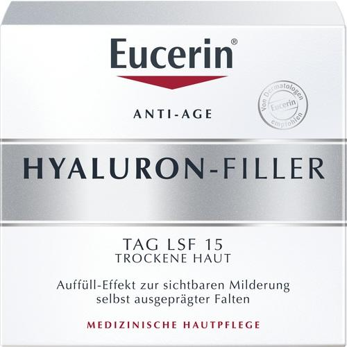 Eucerin Hyaluron-Filler Day Cream for Dry Skin SPF15 50 ml is a Day Cream