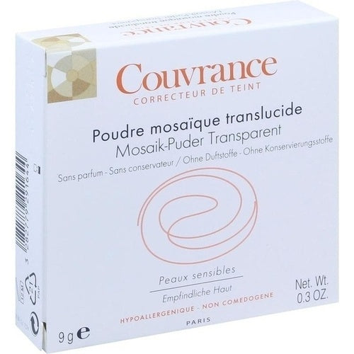 Avene Couvrance Mosaic Powder Transparent With Mirror 9 g is a Powder
