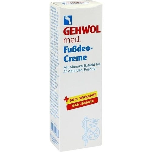 Gehwol Med Foot Deodorant  is a Foot Peeling & Cream