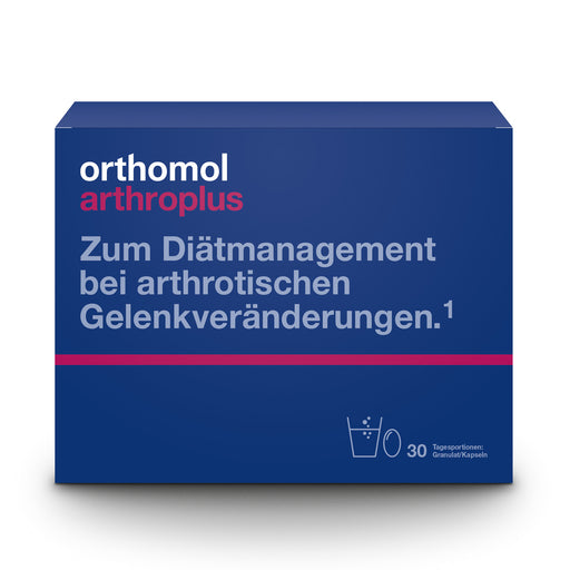 NEW PACKAGING - Orthomol Arthroplus - Cartilage and Bones Supplement 30 days is a Supplements