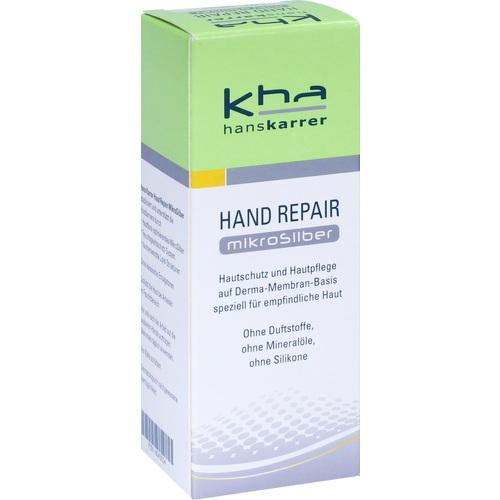Hans Karrer Hand Repair Microsilver 50 ml is a Hand Cream
