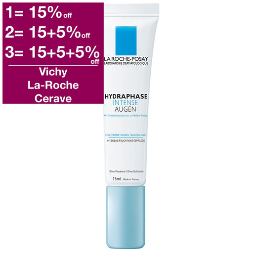 La Roche-Posay Hydraphase Intense Eye Cream - Anti Fatigue