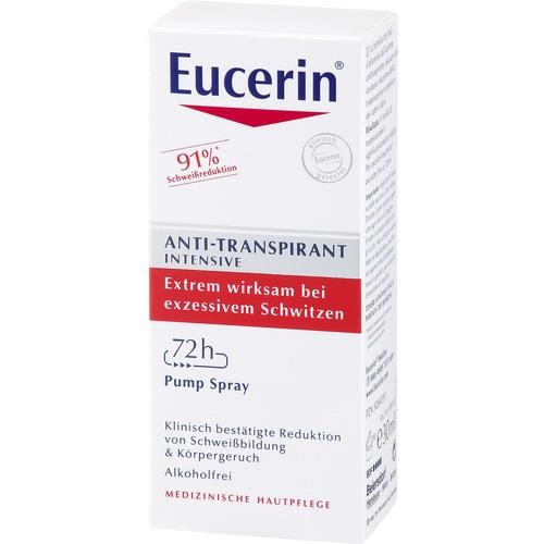 Eucerin Deodorant 72h Anti-Transpirant Intensive Pump-Spray 30 ml is a Deodorant