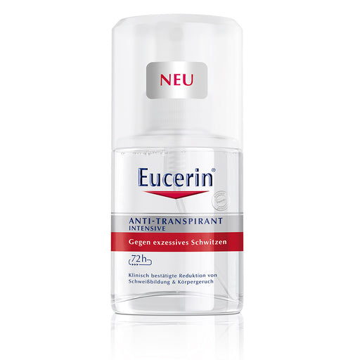 Eucerin Deodorant 72h Anti-Transpirant Intensive Pump-Spray 30 ml