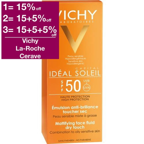 Vichy Capital Soleil Sun Fluid SPF 50 is a Sunscreen