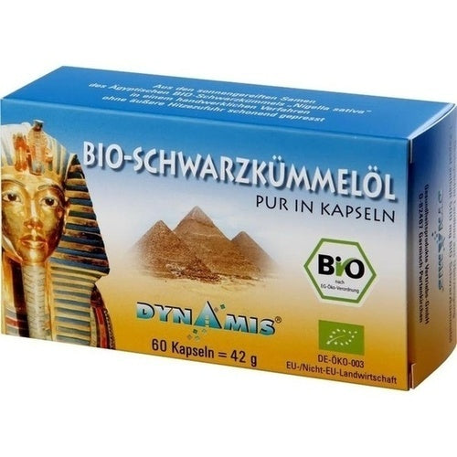Dynamis Gesundheitsprod.Vertr.Gmbh Black Cumin Egyptian Pure Capsules 180 pcs