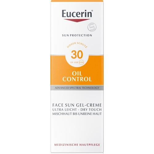 Eucerin Sun Gel-Cream Oil Control SPF 30 50 ml is a Sunscreen for Face