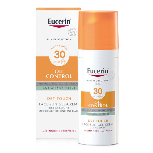 New Packaging - Eucerin Sun Gel-Cream Oil Control SPF 30 50 ml