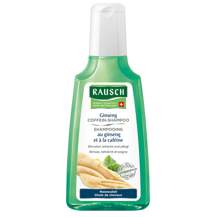 Buy Rausch Ginseng Caffeine Shampoo 200 ml. International Shipping.
